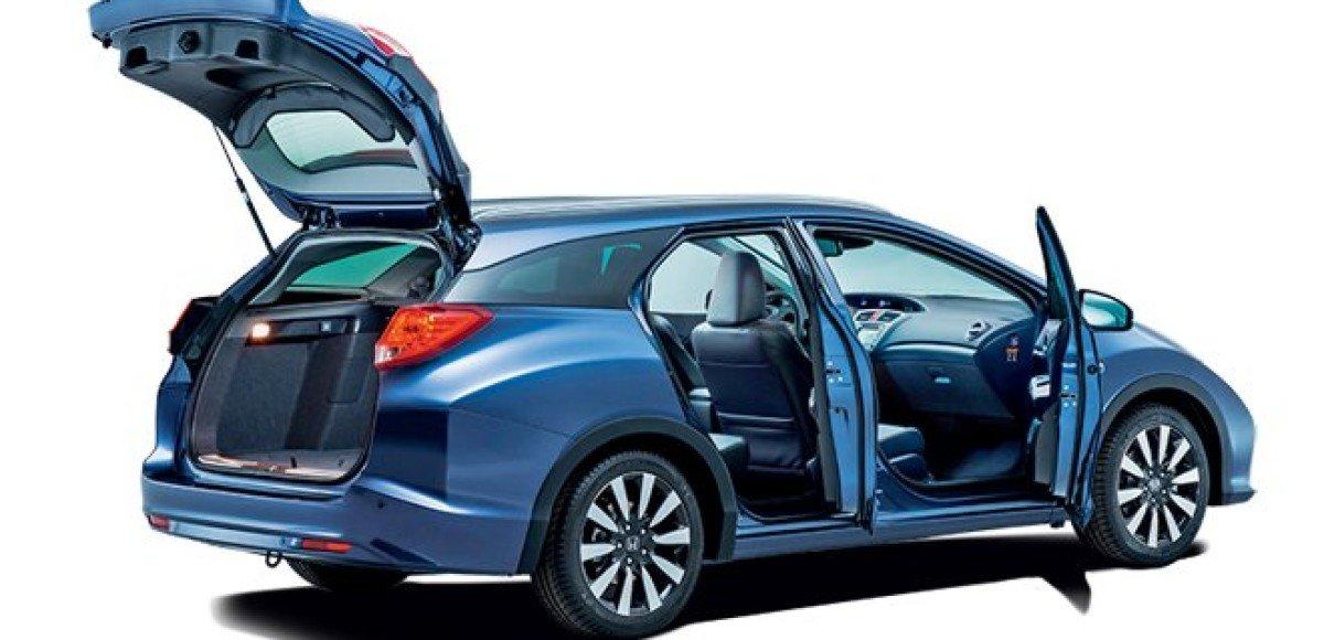 Honda Civic Tourer. Места — вагон