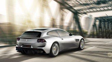 Ferrari GTC4 Lusso с литерой T