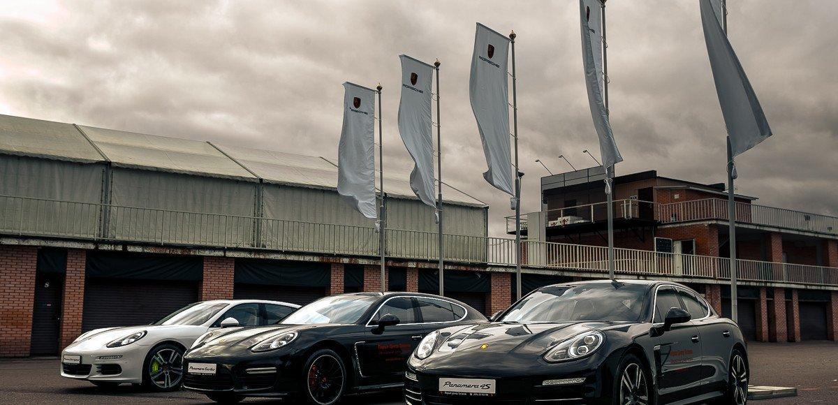 На автодроме ADM Raceway Мячково был представлен обновленный  Porsche Panamera