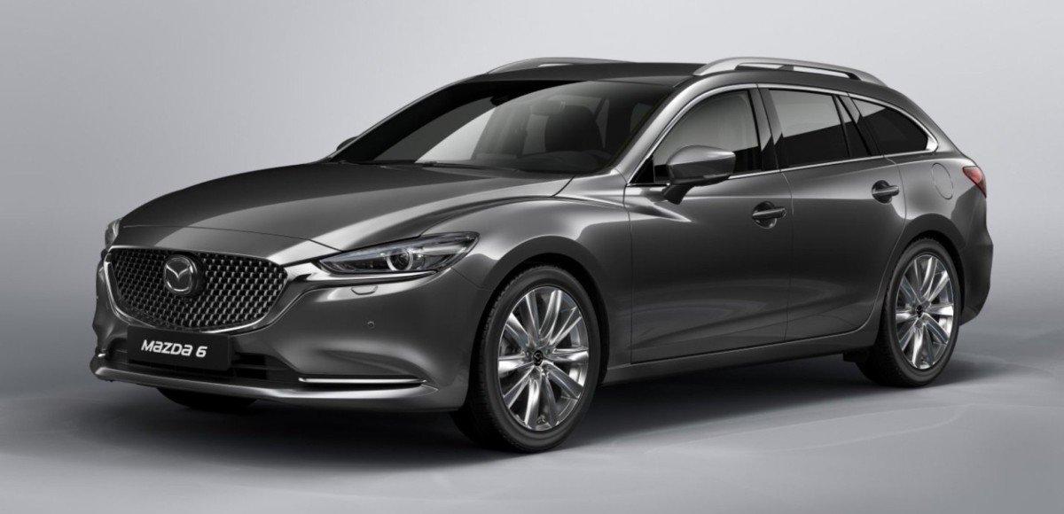 Обновлённый универсал Mazda 6 представят в Женеве