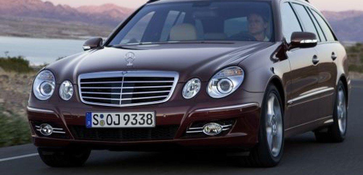 Mercedes-Benz E-class. С глазу на глаз