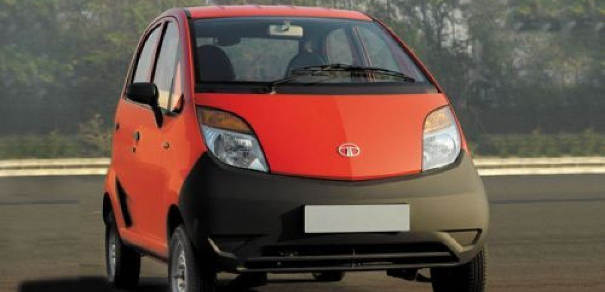 Tata Nano появится на рынке совсем скоро