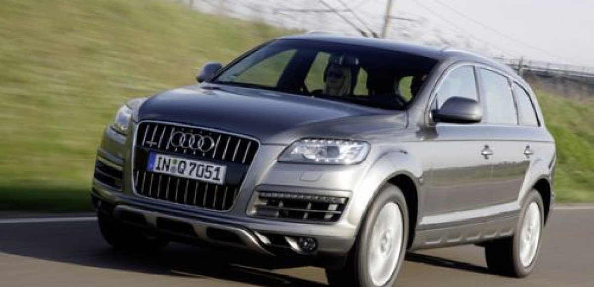 Audi предлагает Q7 с видом на море