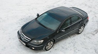 В Москве представили последнюю версию Honda Legend