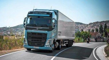 Volvo LNG: магистральный тягач на метане