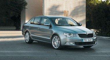 В России стартуют продажи нового седана Skoda Superb