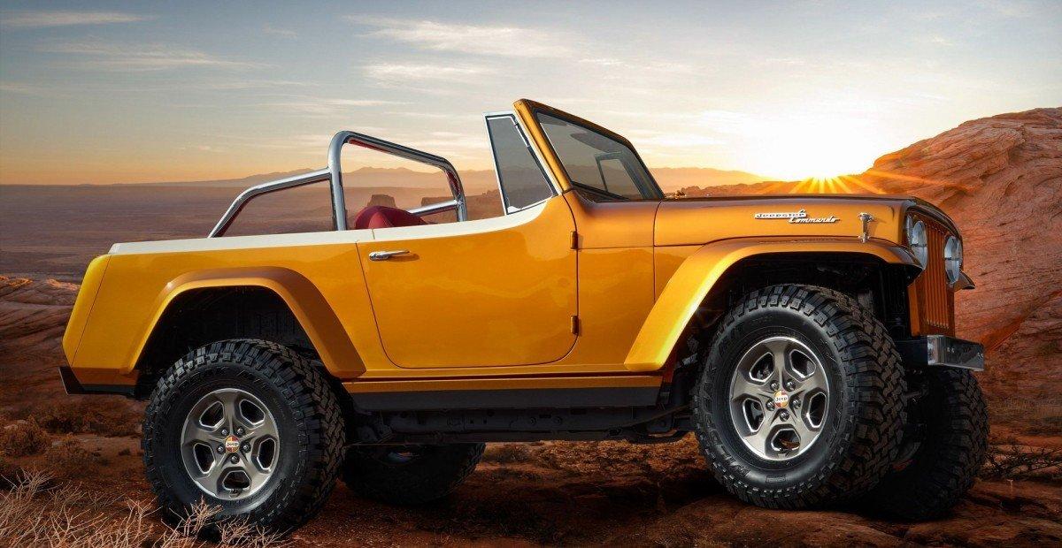 Jeep показал странный электрический внедорожник Wrangler