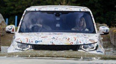 Что сделали дети с новым Land Rover Discovery?