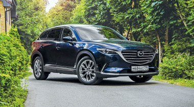 Тест-драйв Mazda CX-9: красотка ибыт