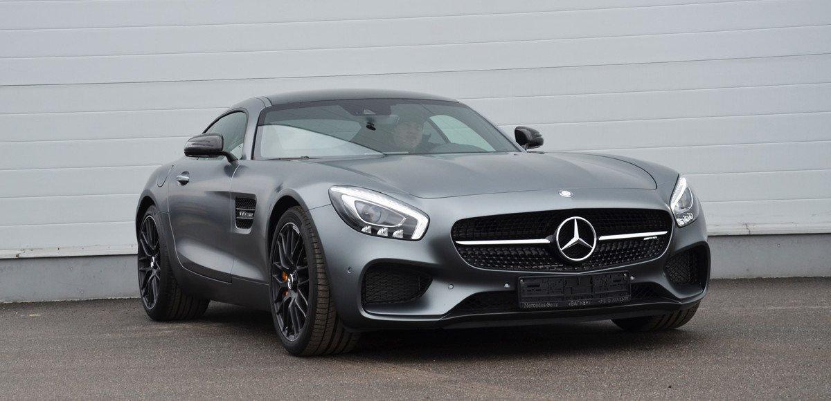 Mercedes-AMG GT. Машина времени