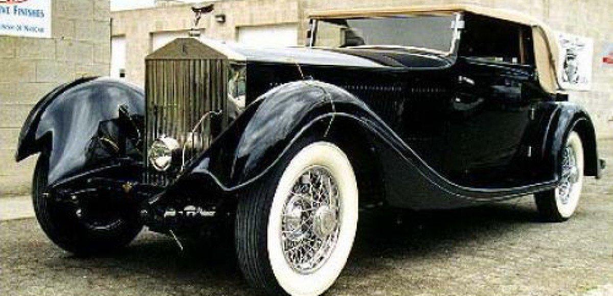 На аукционе выставлен Rolls-Royce Phantom 1933 года выпуска
