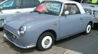 Раритетный Nissan Figaro выставлен на аукцион
