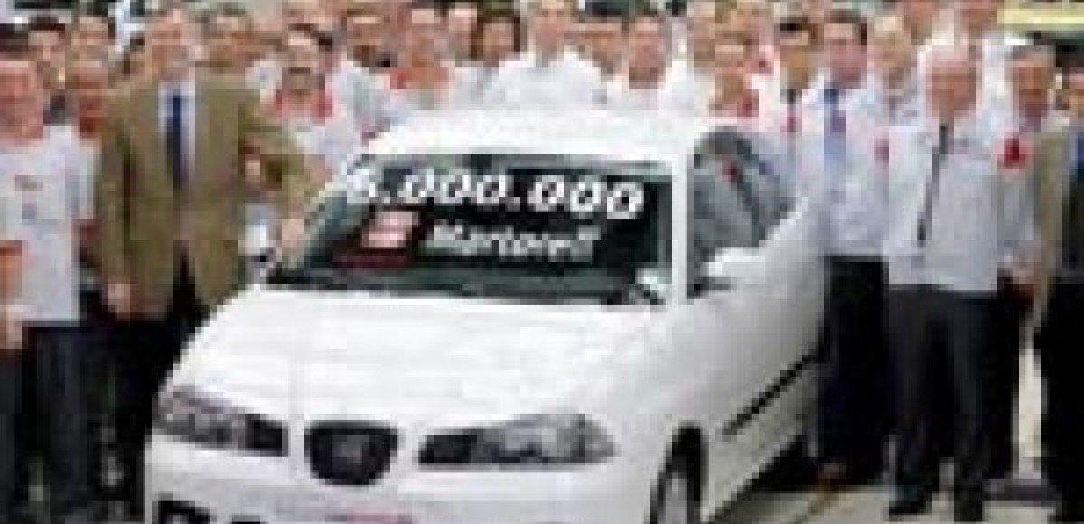 Seat выпустил шестимиллионный автомобиль