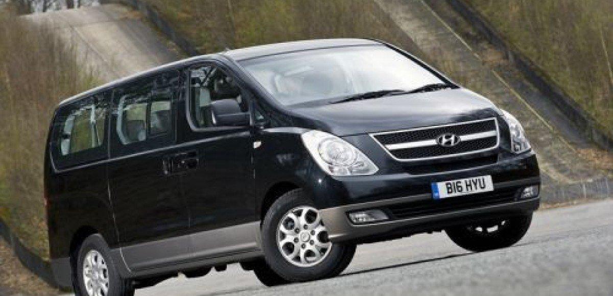 Hyundai i800. Один на восьмерых