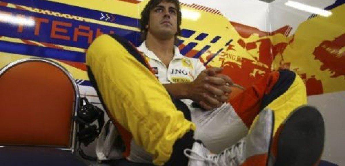 На последней практике в Бразилии самым быстрым оказался Фернандо Алонсо!