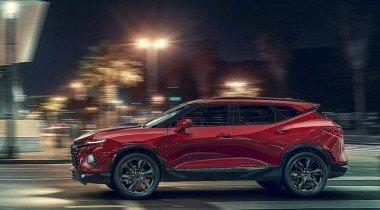 Новый Chevrolet Blazer: внешность Camaro и платформа от Traverse
