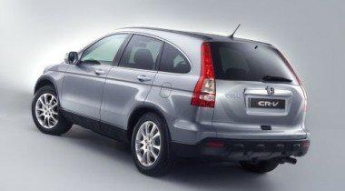 Чаще всего в Москве угоняют Honda CR-V
