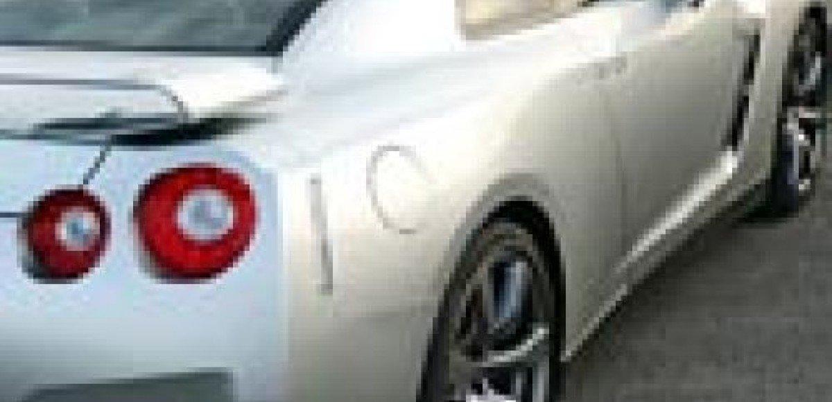 Nissan GT-R. Фотофейерверк