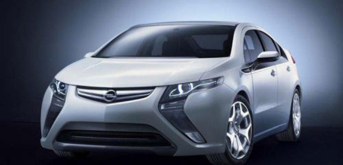 Opel Ampera. Сила электричества