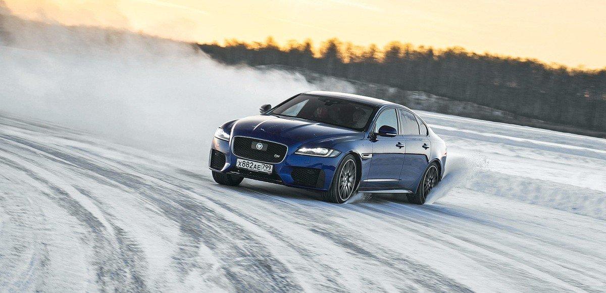 Jaguar Experience — школа зимнего вождения