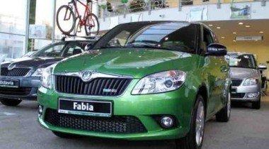 Новая Skoda Fabia RS в «Гриффин-Авто»