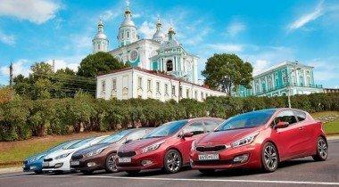 Автопробег из Одессы в Москву на Kia cee'd. Закрытие сезона