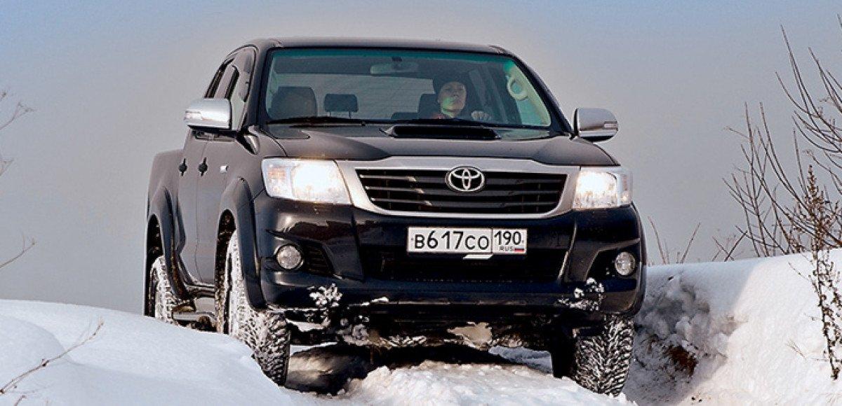 Toyota Hilux. Бегемонт в городе