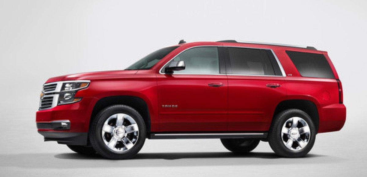 Рестайлинговый Chevrolet Tahoe появится в России в 2015 году