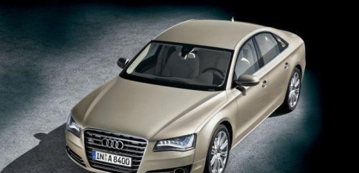 Audi A8. Восьмое чудо света