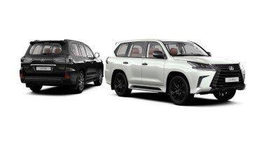 Lexus LX Black Vision: ставка на черное