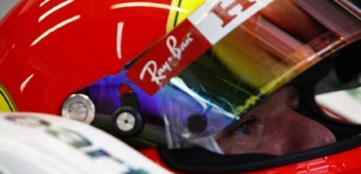 Рубенс Баррикелло побеждает Фелипе Массу в гонке