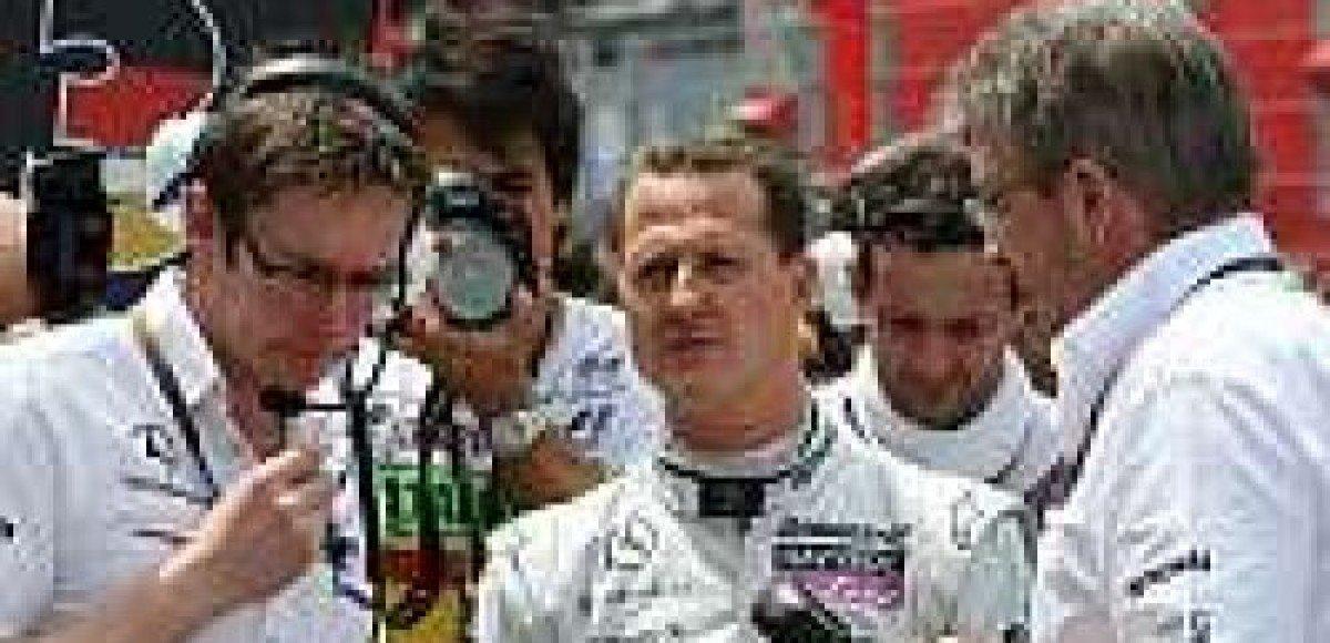 Mercedes: «К Шумахеру хорошо относятся в нашей команде»