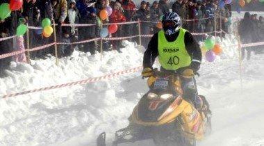 В поселке Мистолово пройдет Чемпионат России по спринт-кроссу на снегоходах