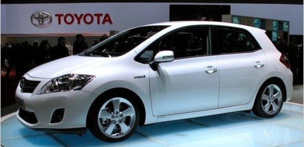 Toyota Auris, курс на Европу