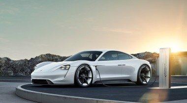 Первый электрический Porsche будет называться Taycan