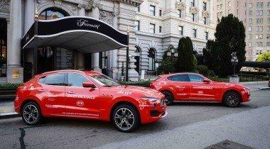 Maserati участвует в автопробеге «Кэш энд Рокет Тур 2018»