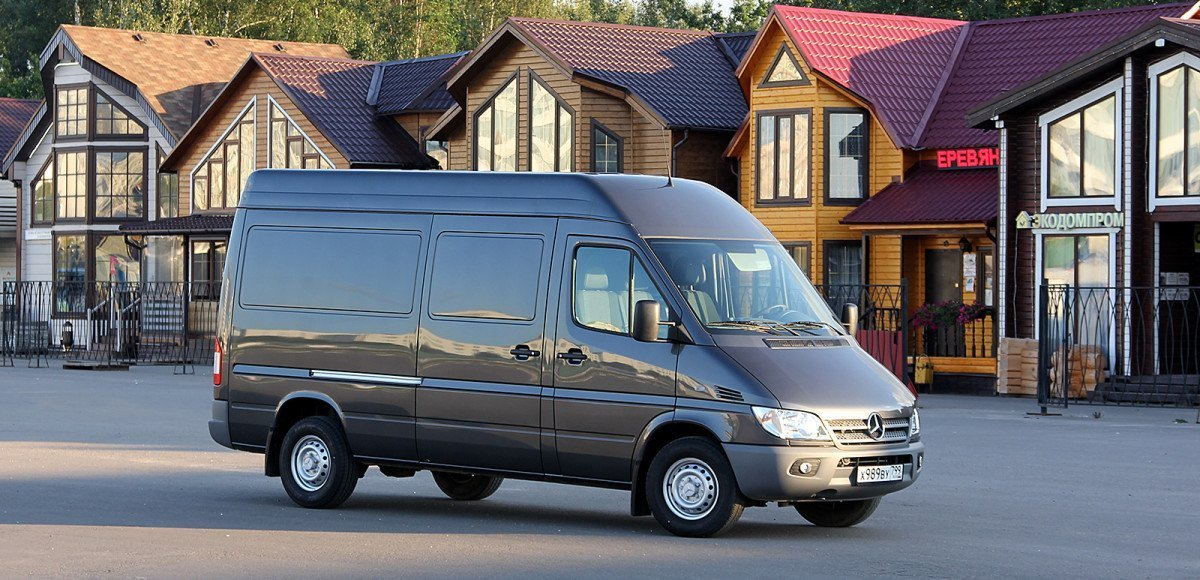 «ГАЗель» по-немецки: тест обновленного Mercedes-Benz Sprinter Van
