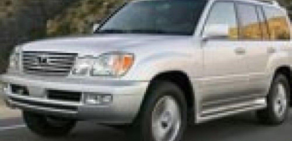 Угонщики сменили Toyota Land Cruiser на Lexus LX 470