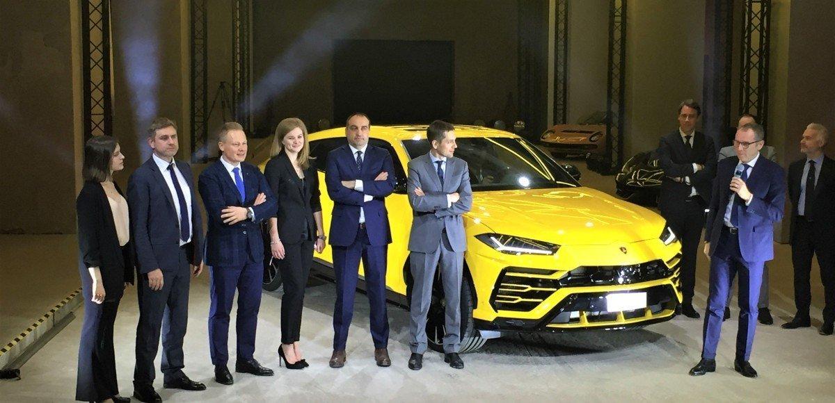 Urus в Москве: российская премьера нового SUV от Lamborghini