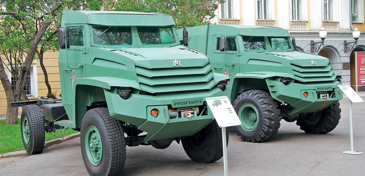 «Колун» и «Торос»: армейские машины XXI века