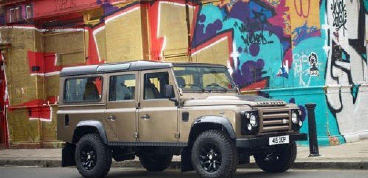 Land Rover запускает ограниченную серию Defender Raw LE
