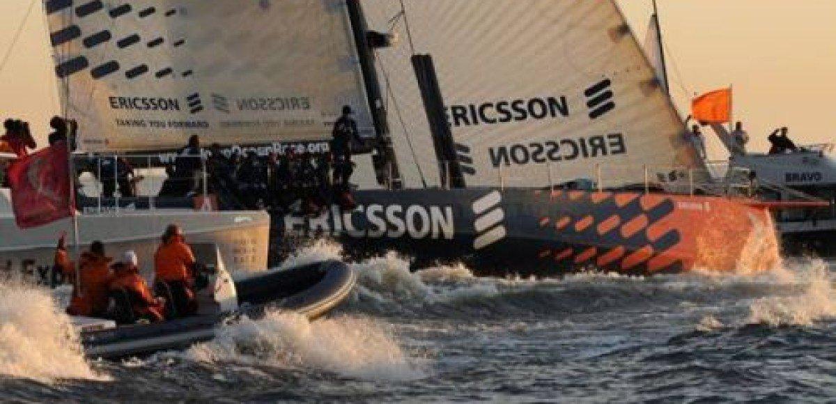 Санкт-Петербург встретил участников регаты Volvo Ocean Race