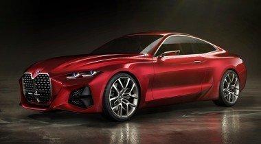 BMW Concept 4: принял эстафету по увеличению фирменных «ноздрей»