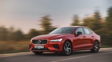 Новые седаны Volvo S60 появились у дилеров
