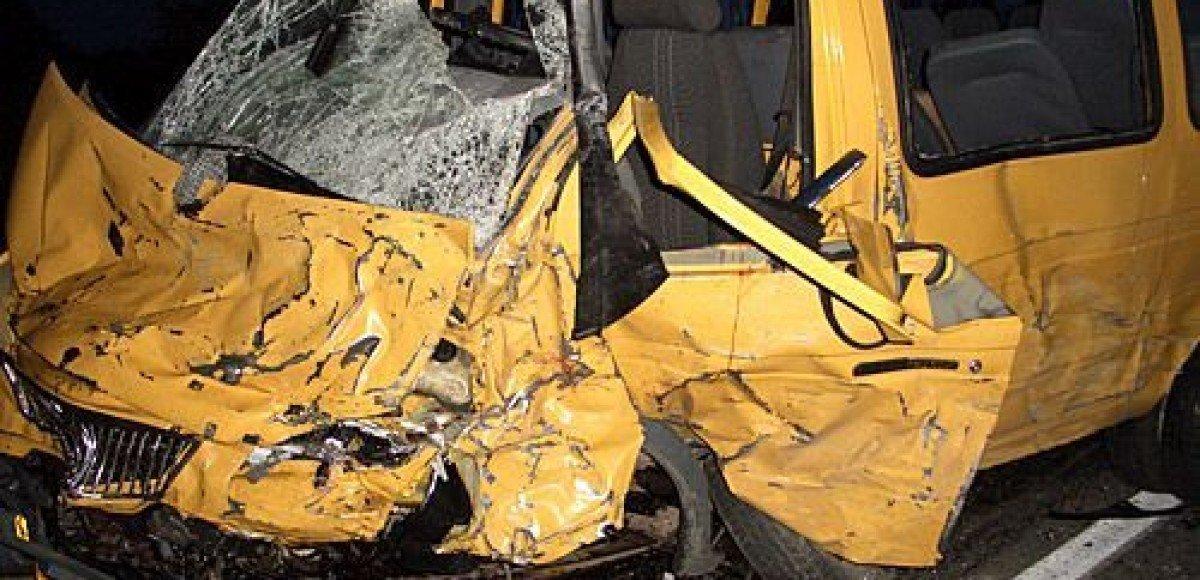 В Подмосковье произошла авария с участием маршрутки
