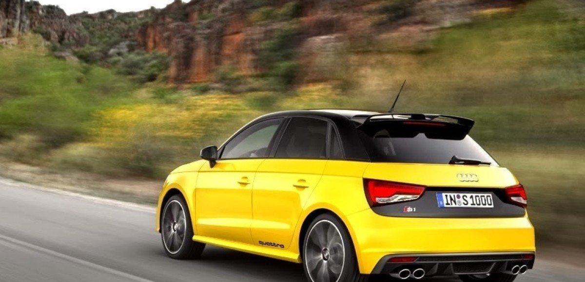 Появились певрые фотографии «горячего» хэтча Audi S1 quattro