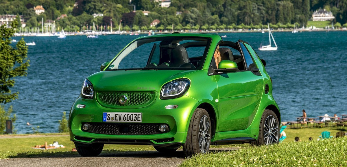 Smart Fortwo Electric Drive Cabrio. Попрощайтесь со стереотипами
