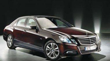Mercedes-Benz E-class. Угол-шоу