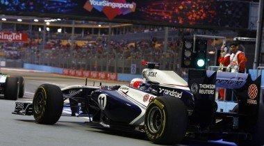 Гран-при Сингапура с точки зрения шин