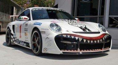 Porsche 911 TechArt GTstreet. Ужас!